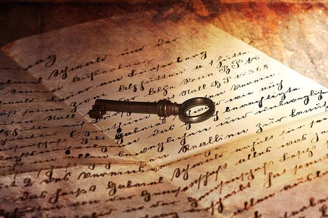 oude schrift