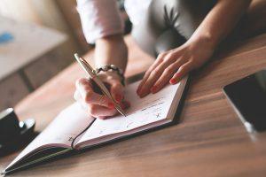 schrijven - dromen durven doen