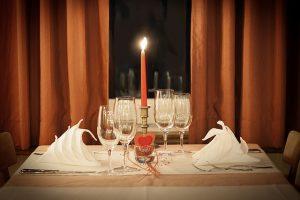 romantisch etentje