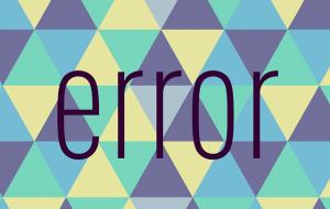 foutcode error