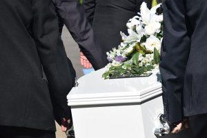 afscheid via de dood
