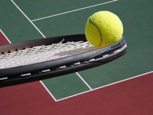 tenniswedstrijd in gedachtewereld