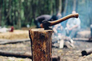 Feng Shui - metaal kapt hout